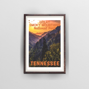 Smoky Mountains National Park Poster